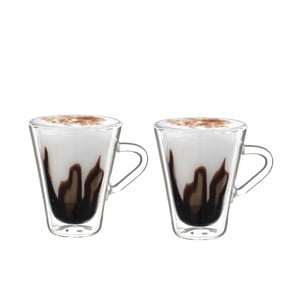 Sada 2 dvojstenných pohárov Bredemeijer Esspressino