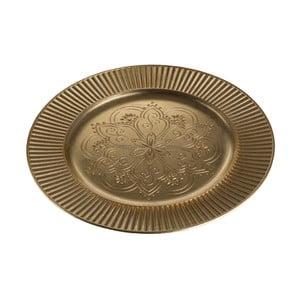 Servírovací podnos v zlatej farbe Premier Housewares