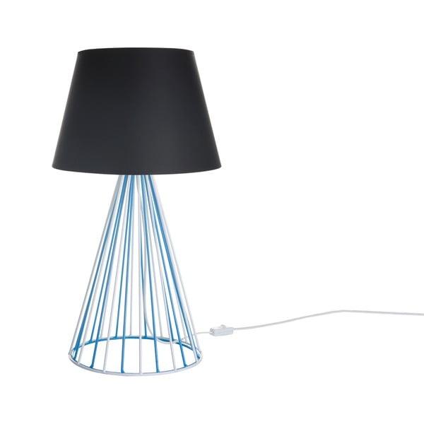 Stolová lampa Wiry Black/Blue
