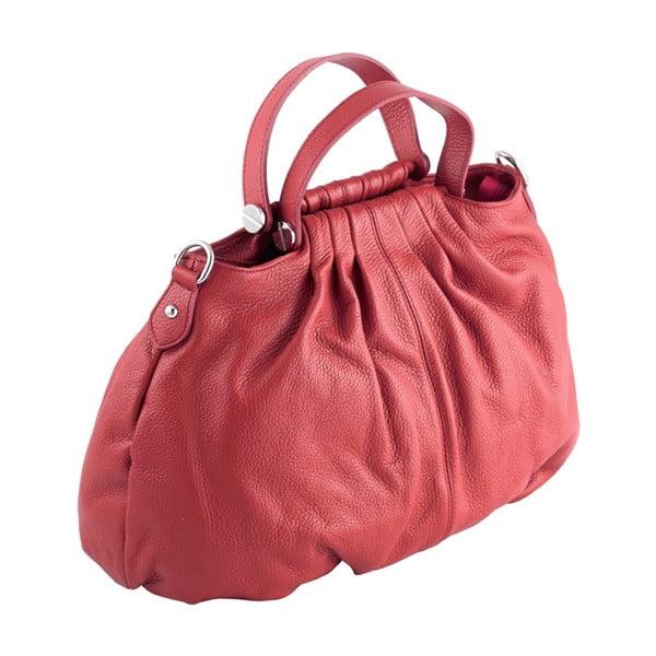 Kožená kabelka Andrea Cardone 934 Red