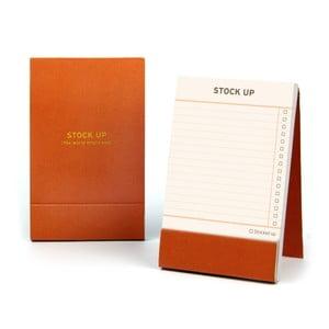 Zápisník Stock Up