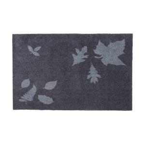 Modro-sivá rohožka Tica Copenhagen Mega Leafes, 60 x 90 cm