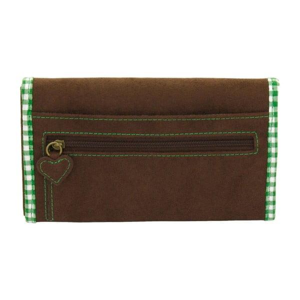 Dámska peňaženka Bavaria Brown/Green