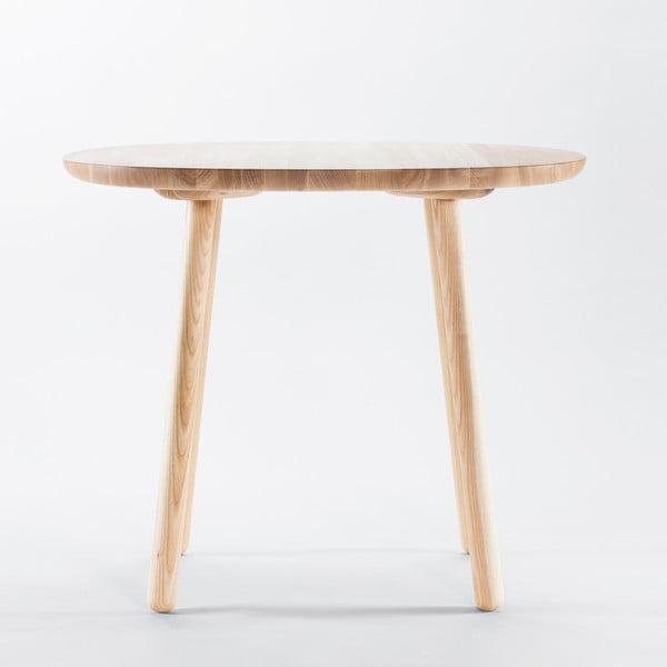 Prírodný jedálenský stôl z masívu EMKO Naïve, 90 cm