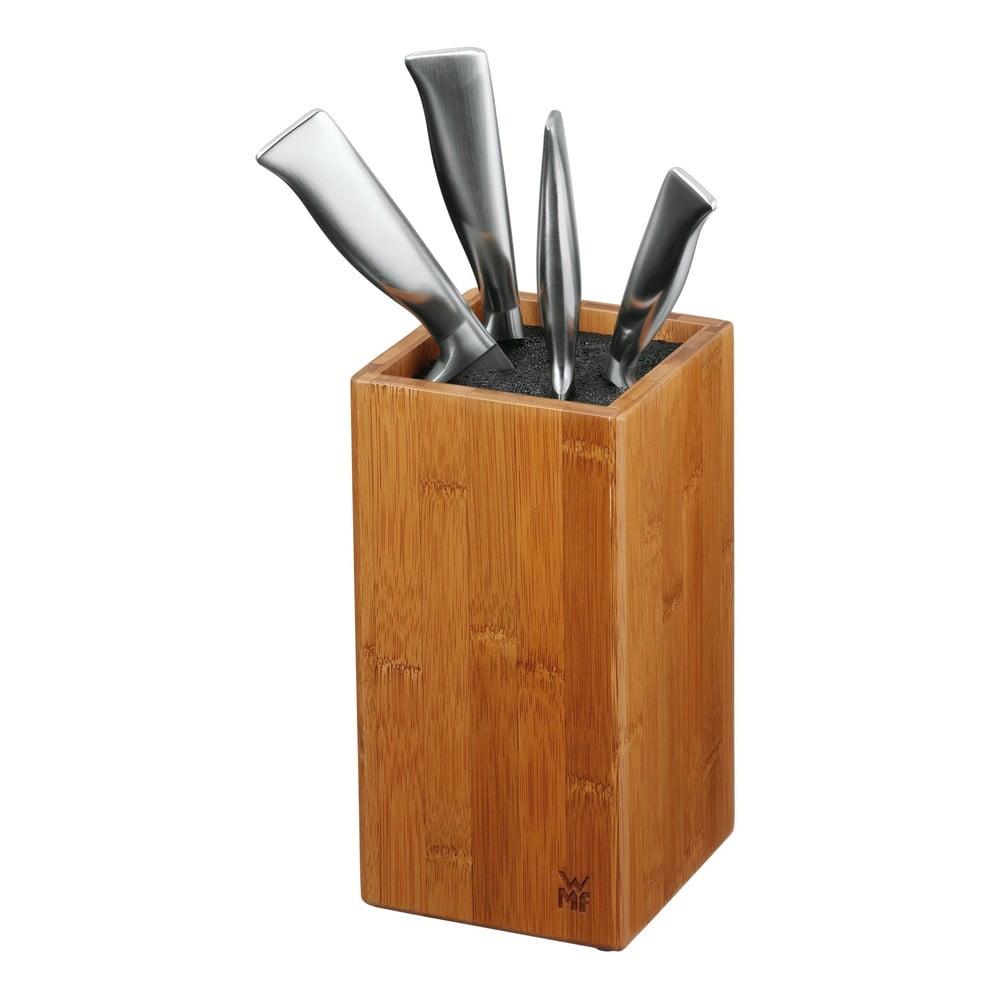Bambusový blok na nože so štetinami WMF