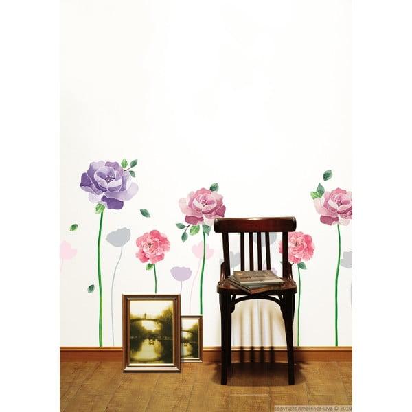 Sada samolepiek Ambiance Rose Flowers