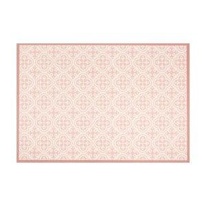 Marhuľovoružový vinylový koberec Zala Living Sia, 65×100cm