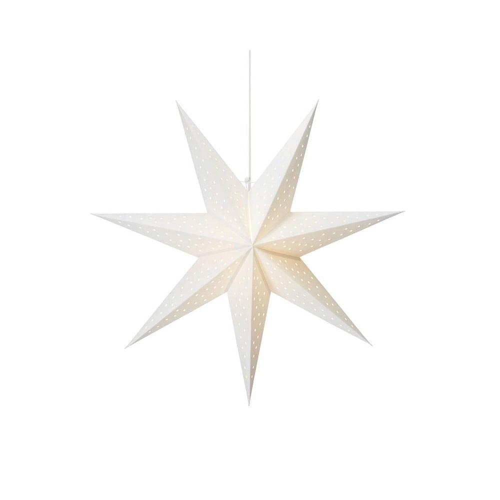 Biela svetelná dekorácia Markslöjd Clara, výška 75 cm