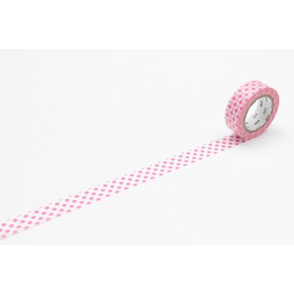 Washi páska Dot Dot Pink