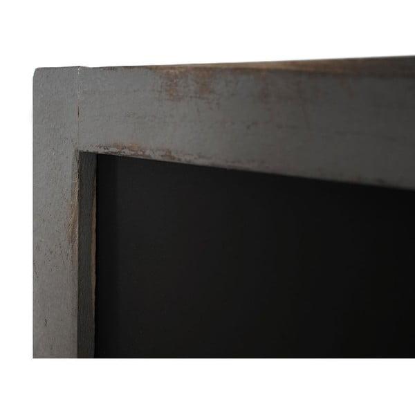 Sivá nástenná tabuľa Mendler Shabby Billboard