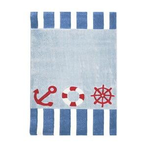 Modrý detský koberec Happy Rugs Little Captain, 120x180cm