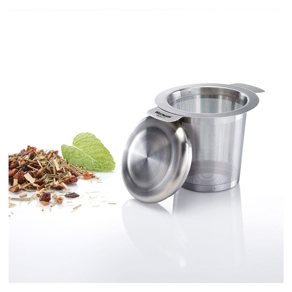 Antikoro sitko na čaj s pokrievkou Westmark Teatime
