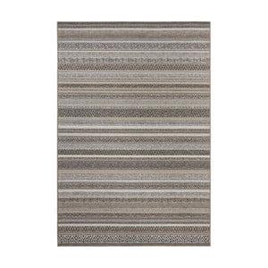 Hnedý koberec vhodný aj do exteriéru Elle Decor Bloom Torcy, 140 × 200 cm