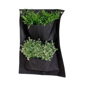 Závesný textilný kvetináč ADDU Planting, 41×58 cm