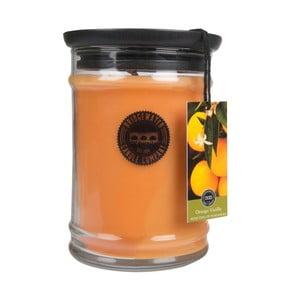 Sviečka v sklenenej dóze s vôňou vanilky a pomaranča Bridgewater Candle Company