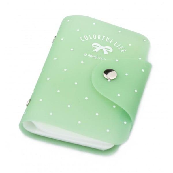 Puzdro na doklady Dot, zelené
