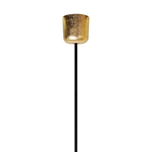 Závesný kábel Cero, gold/black/gold