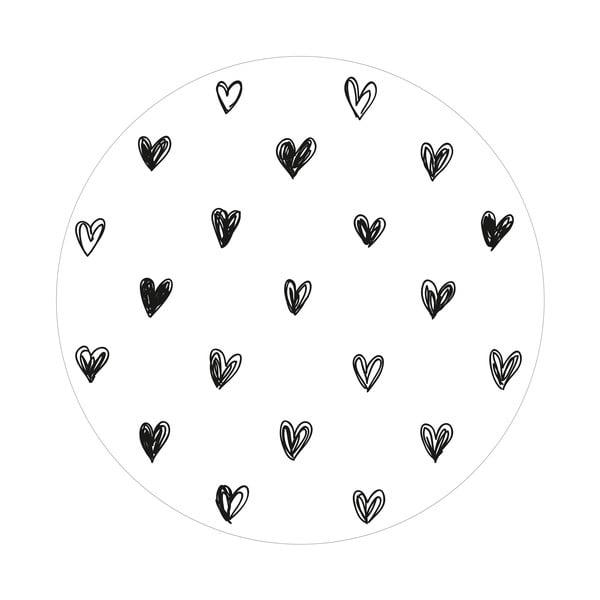 Sada 2 odkladacích stolíkov Simple Love, 35 cm + 49 cm