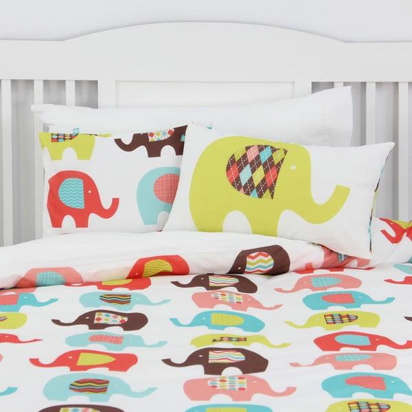 Obliečka na vankúš Sweet Elephants 50x30 cm