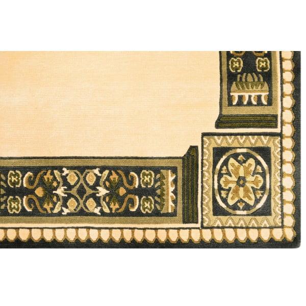 Vlnený koberec Bakero Beige, 140x200 cm