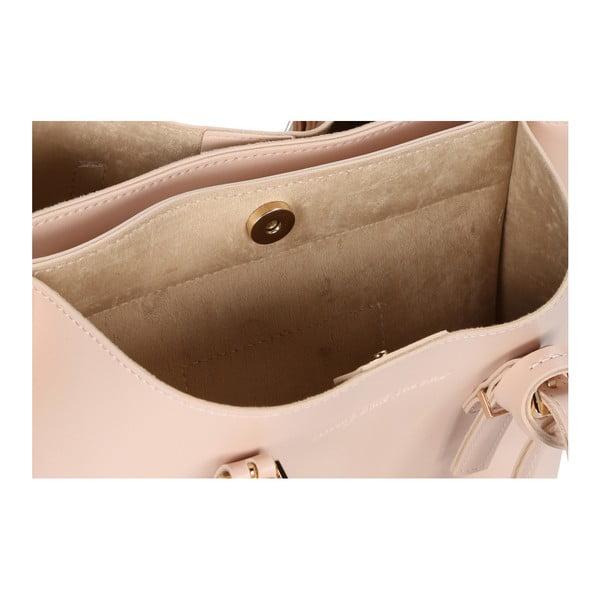 Púdrovoružová kabelka z eko kože Beverly Hills Polo Club Alicia