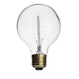 Žiarovka Edison Clear G125 / E27 / 40W