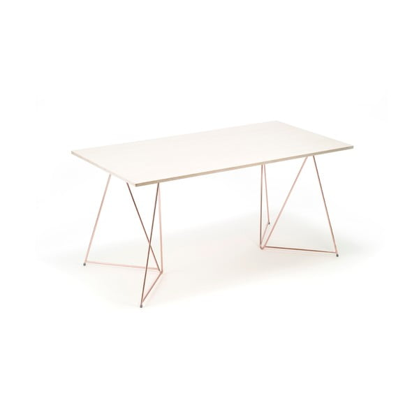 Sada 2 medených nôh ku stolu Master & Master Diamond, 70 x 70 cm
