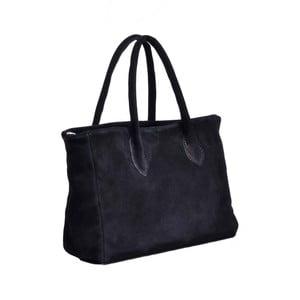Kožená kabelka Shanna, čierna