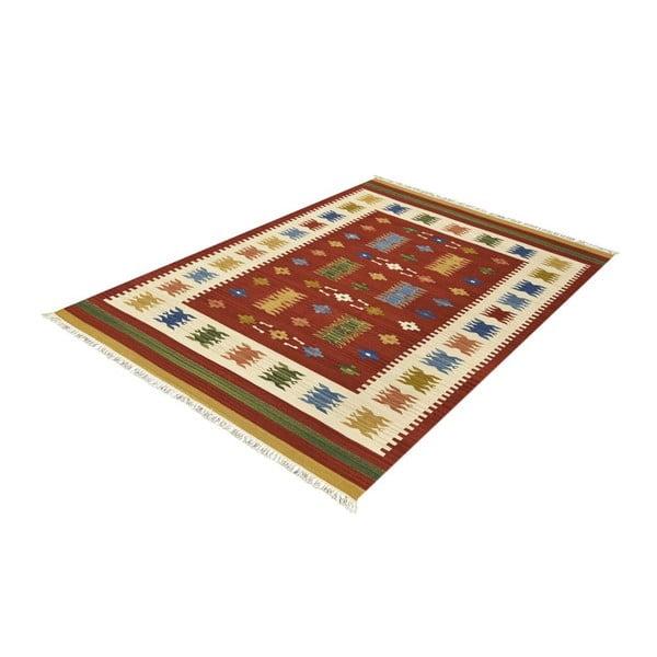 Vlnený koberec Kilim Classic AK01 Mix, 125x185 cm