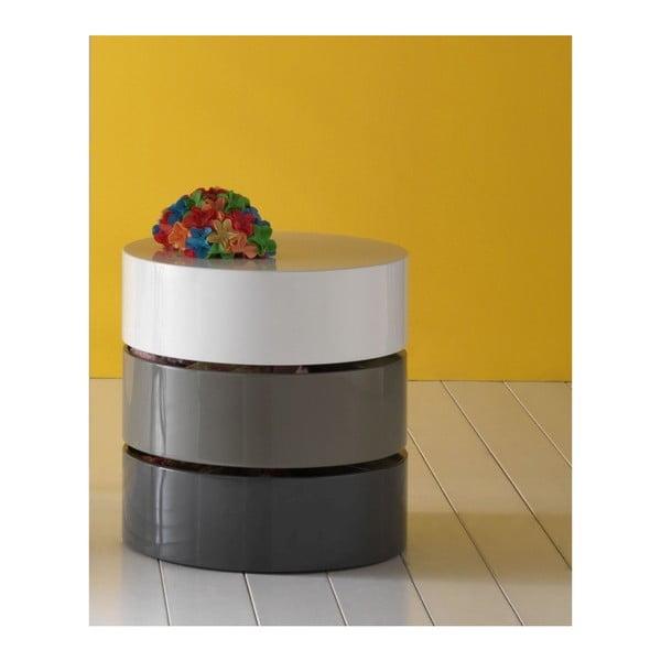 Odkladací stolík s úložným priestorom Design Twist Sardara
