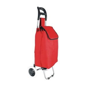 Červená taška na kolieskach Hero Chariot, 32 l