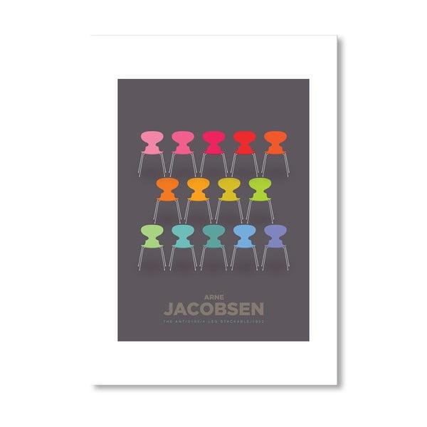 Autorský plagát Colourful Ants