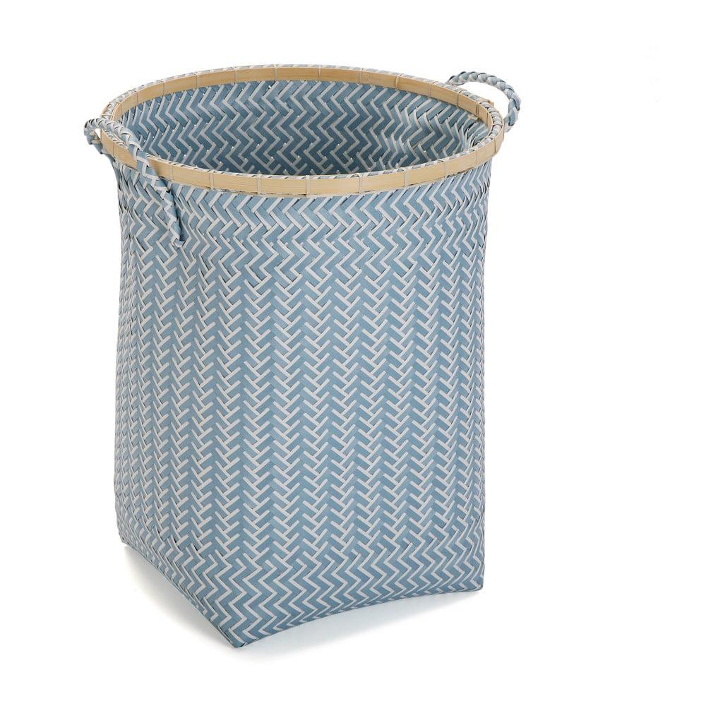 Modrý košík Versa, výška 50 cm