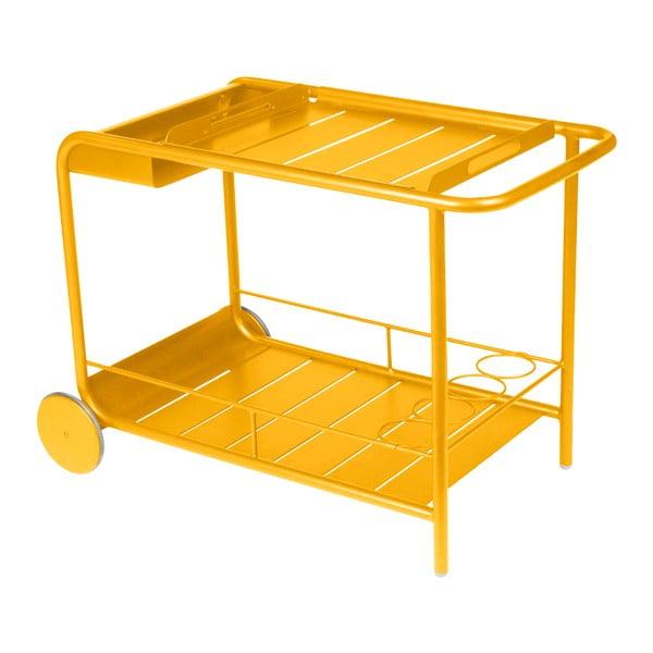 Žltý servírovací stolík Fermob Luxembourg