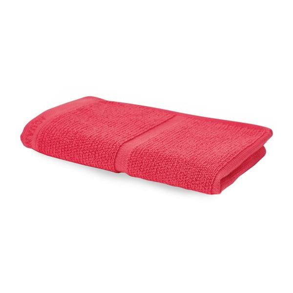 Korálovočervený uterák Aquanova Adagio, 30 x 50 cm