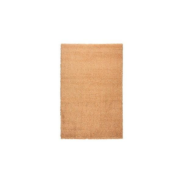 Vlnený koberec Dama no. 611, 60x120 cm, oranžový