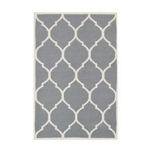 Sivý vlnený koberec Bakero Lara, 120x180cm