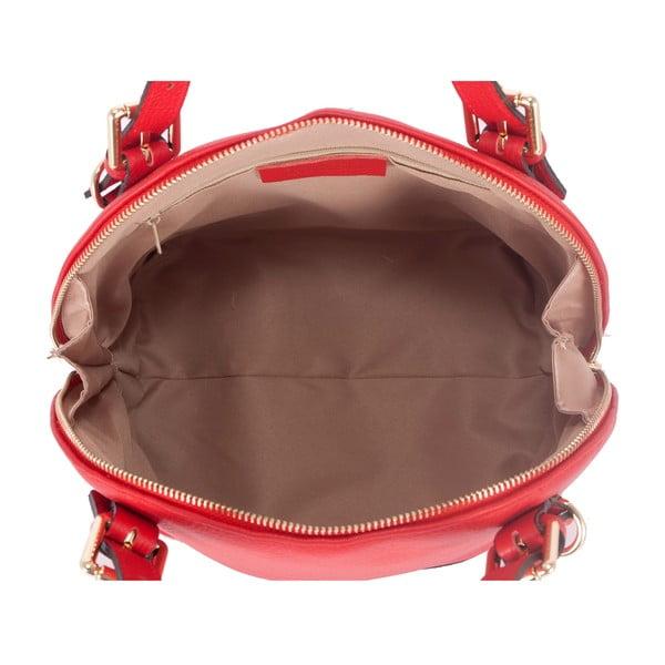 Kožená kabelka Andrea Cardone 2002 Red