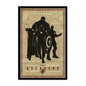 Plagát The Avengers, 35x30 cm