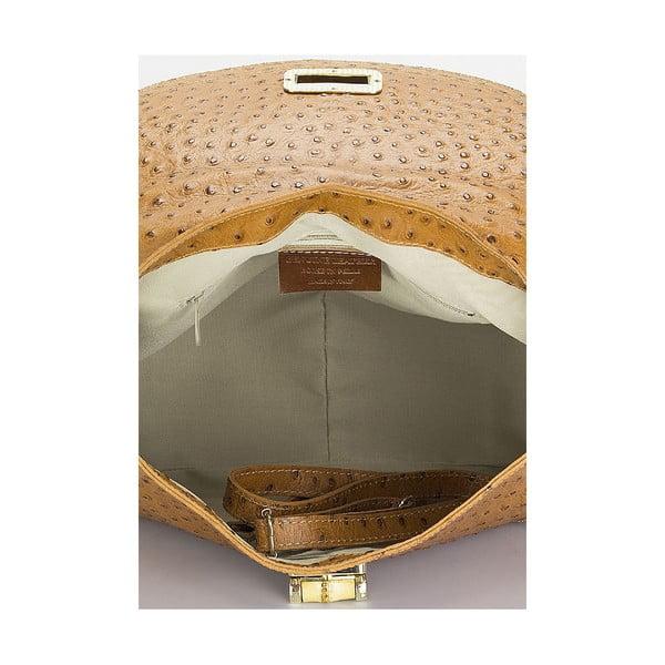 Kožená kabelka Giorgio Costa 15017 Cognac