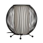 Čierna stolová lampa Ixia Carla, ⌀ 20cm