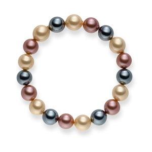 Perlový náramok Nova Pearls Copenhagen Renee Ivory, 19 cm