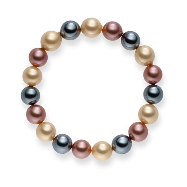 Perlový náramok Nova Pearls Copenhagen Dirké, 21 cm