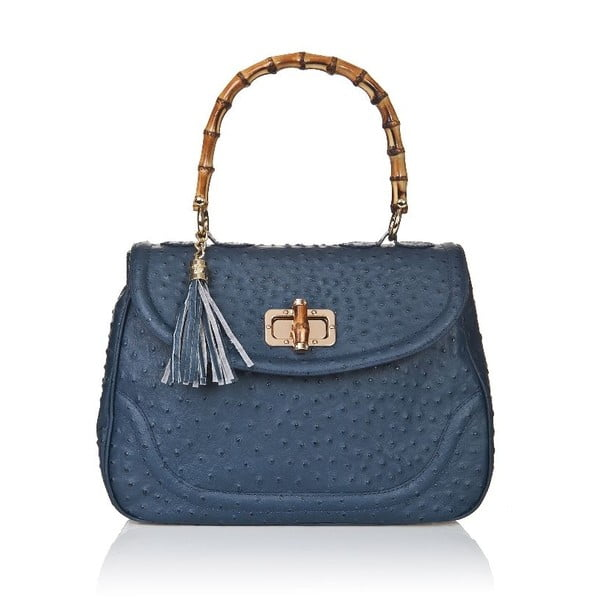Kožená kabelka Bamboo Blue