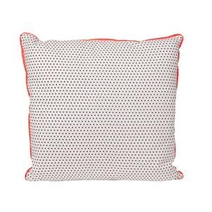 Vankúš Dots Square Grey, 45x45 cm