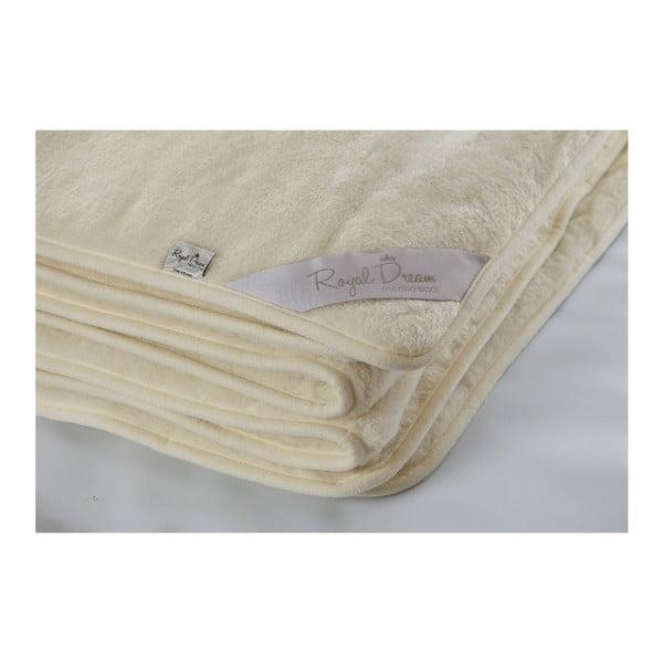 Vlnená deka Royal Dream Cashmere, 140x200cm