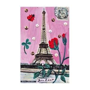 Plagát Mon Petit Art Paris en Rose, 85×58 cm