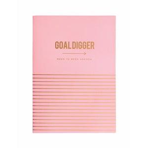 Osobný plánovač Portico Designs Goal Digger