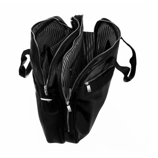 Kožená taška cez rameno Continuum