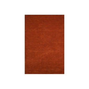 Vlnený koberec Millennium 160x230 cm, tehlovočervený